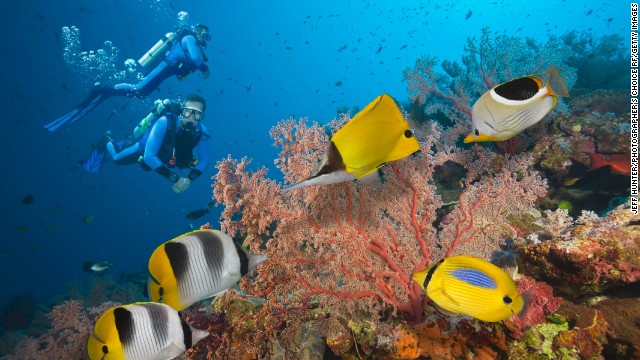Australia 10th happiest-countries-barrier reef