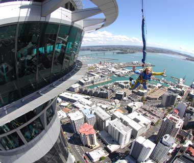 New Zealand Auckland observation-skytower